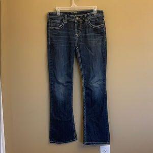 Silver Natsuki Bootcut Jeans